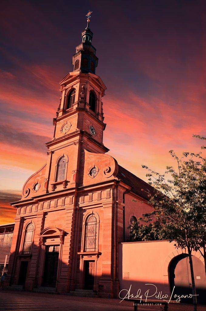 Schwetzinger Stadtkirche